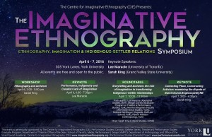 Centre for Imaginative Ethnography (CIE) Symposium