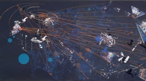 Sarah Sze, Night (2005)