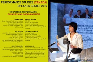 Performance (Canada) Speaker Series Poster