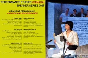 Performance (Canada) Speaker Series Poster