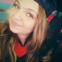 Alex at her 2014 graduation