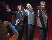 Assassins, Queen's Musical Theatre, November - December 2013. Photo by Tim Fort.