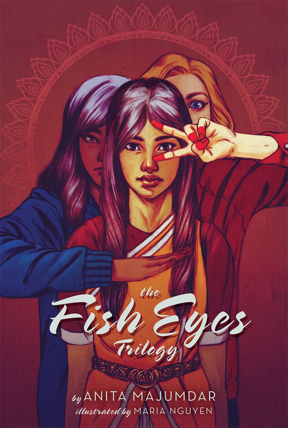 image of the Fish Eyes Trilogy Publication Cover