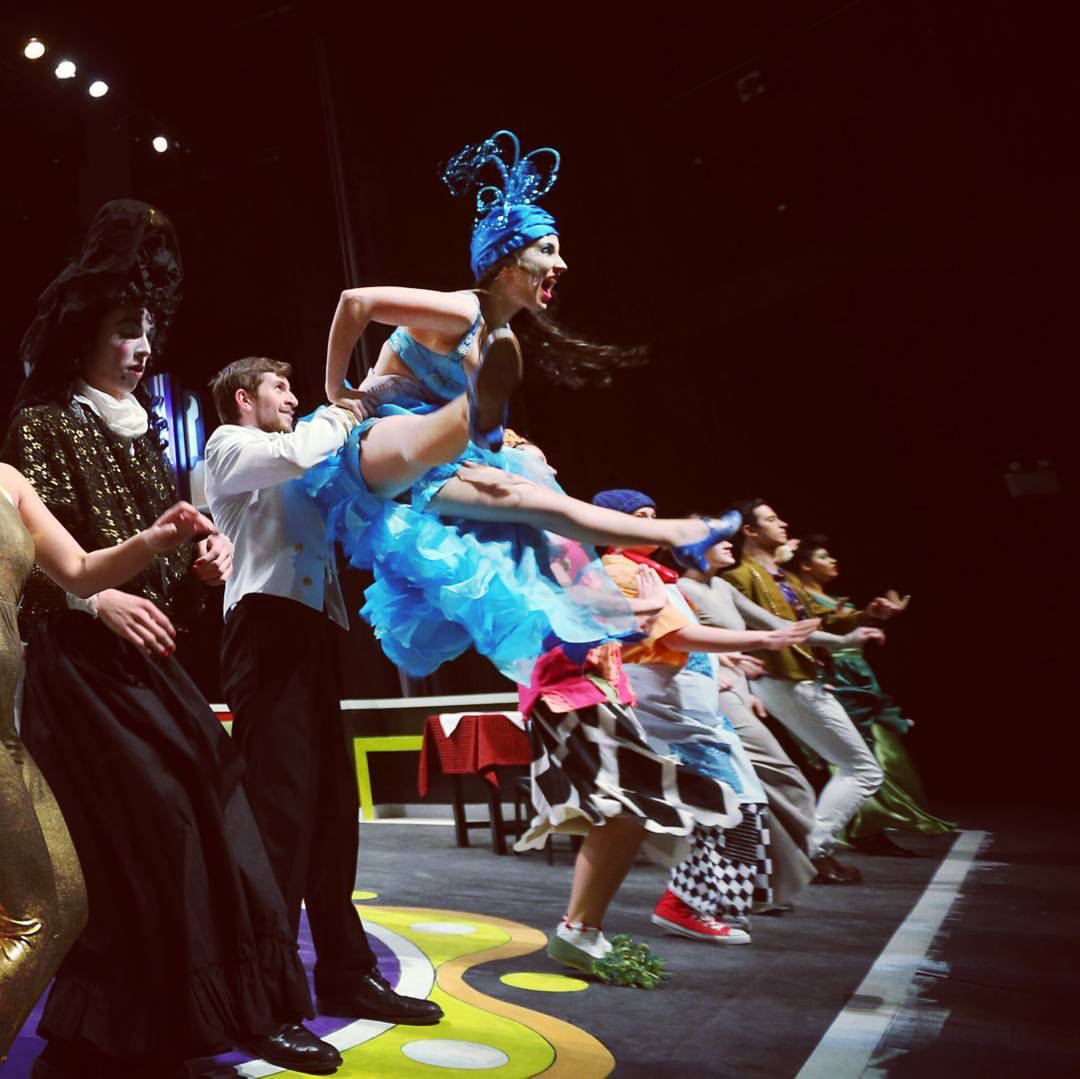 photo of dancers on stage